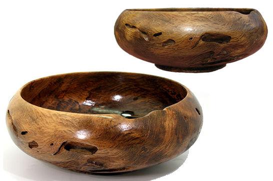 Small Oak Bowl #119