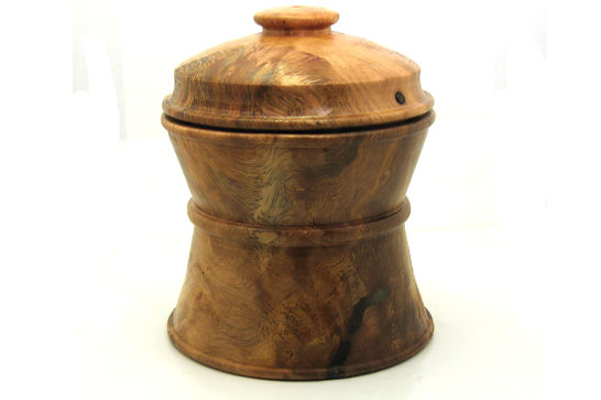 Oak Cookie Jar
