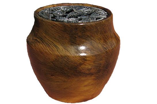 Oak Potpourri Vessel