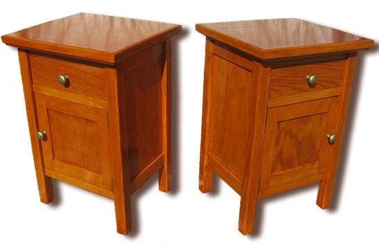 Oak Bed Side Tables | woodpops.
