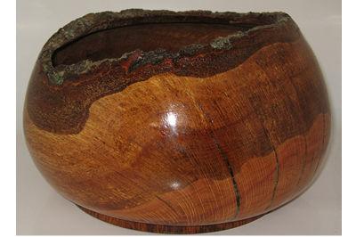 Bark Rim Deep Bowl