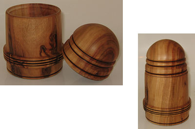 Camphor Lidded Box