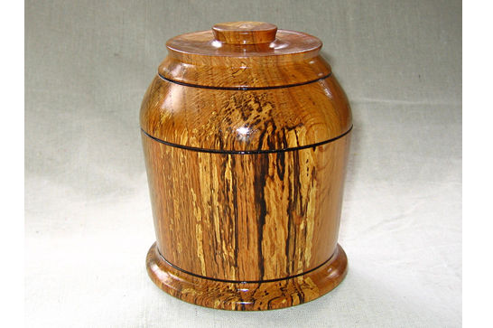 Lidded Smoking Box #107