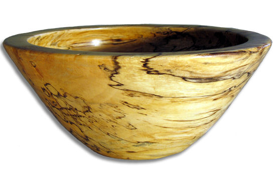 Spalted Maple Bowl #193
