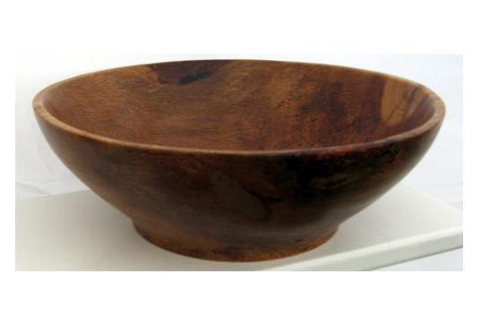 Rustic Oak Bowl #109