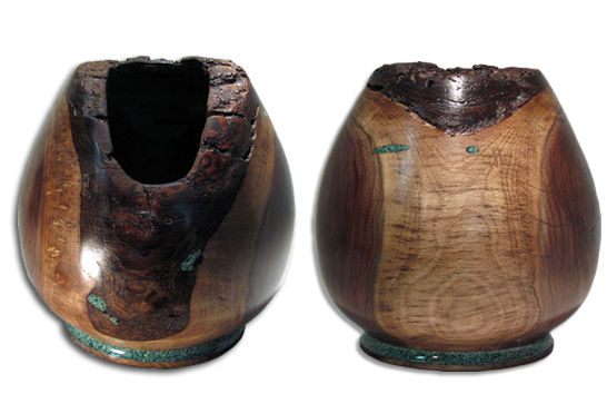 Vessel with Inlay #229
