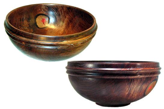 Walnut Bowl #234