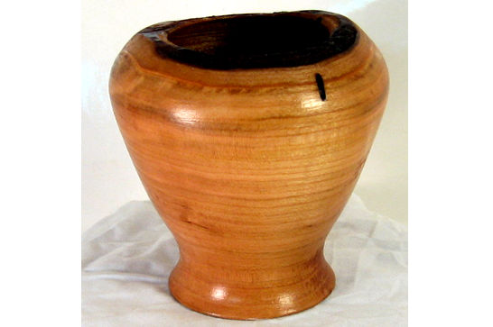 Small Natural Edge Vessel #253