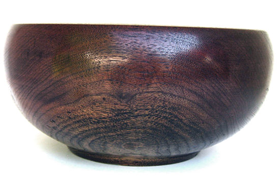Black Walnut Undercut Rim Bowl #303