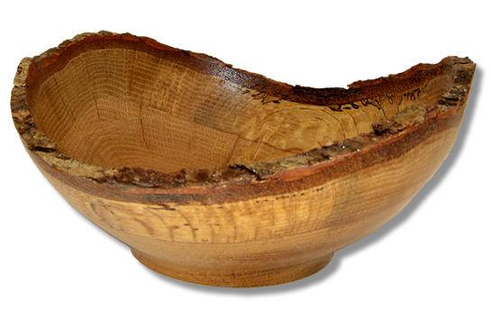 Oak Natural Edge Bowl #307