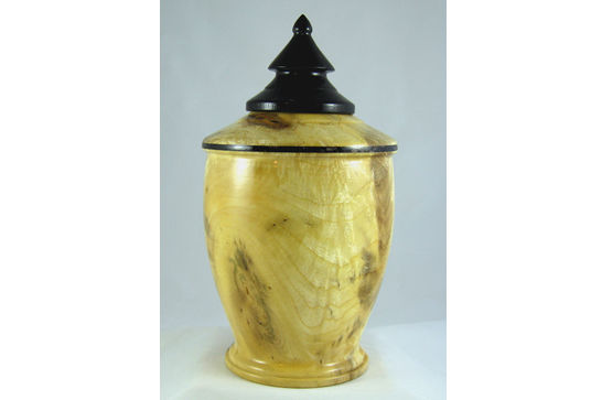 Urn with Obsidian Bead #330