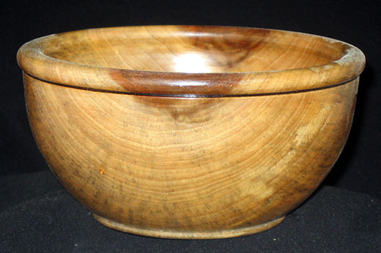 Small Curly Camphor Bowl #353