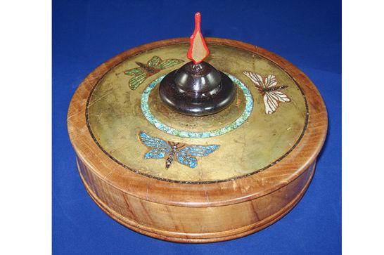 Dragon Fly Jewelry Box #372