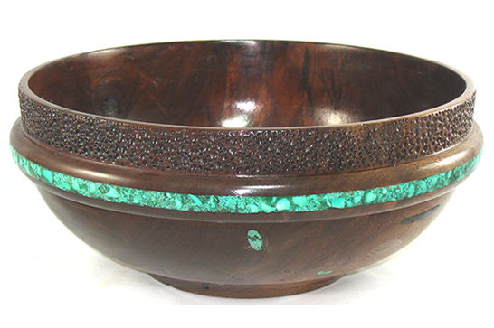 Turquoise Inlay Bowl #375