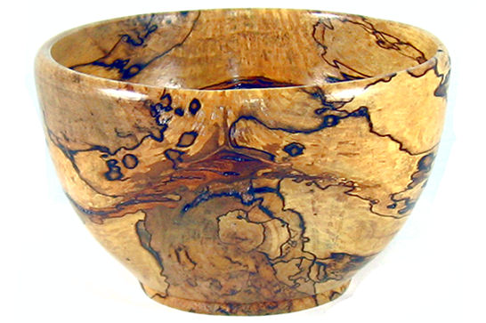Spalted Maple Wood Bowl Spalted Maple Rice Bowl 377