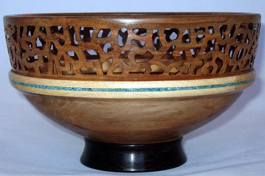 Elegant Pierced Bowl #397