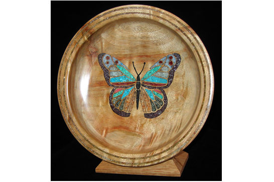 Standing Butterfly Dish #408