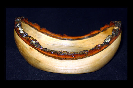 Small Bark Edge Bowl #411
