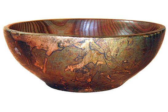 Elm Copper Bowl # 441