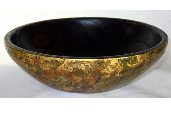 Golden Camo Bowl # 445