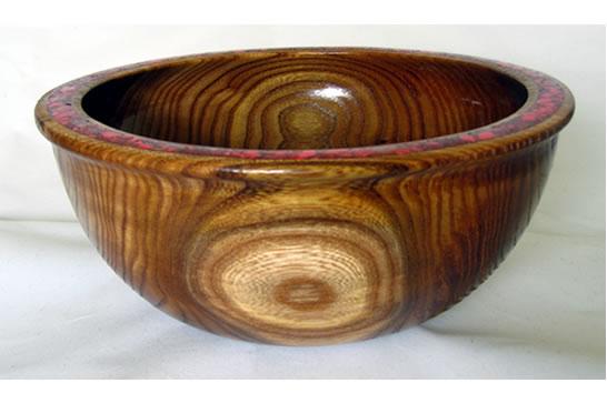 Red Rim Bowl # 452