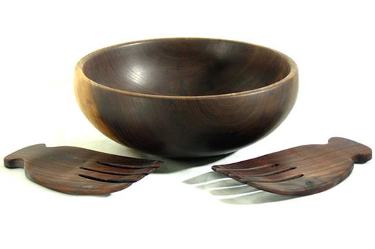 Salad Bowl with Treenware # 476