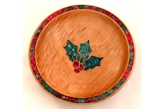 Christmas 2014 Holly Dish # 483