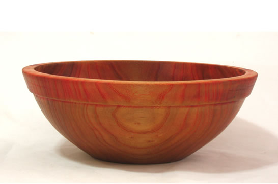 Pale Red Salad Bowl # 486