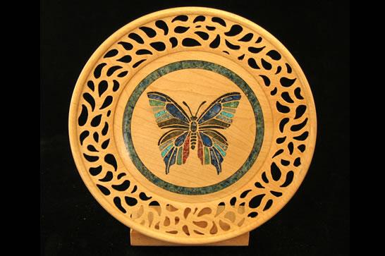 Pierced Butterfly # 492