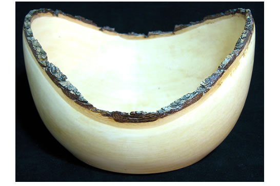 Small Bark Edge Bowl # 498