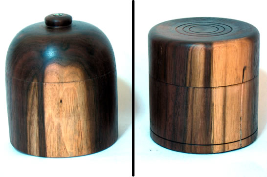 Walnut Trinket Boxes # 499