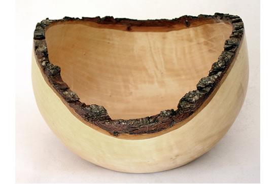 Natural Edge Bowl # 507