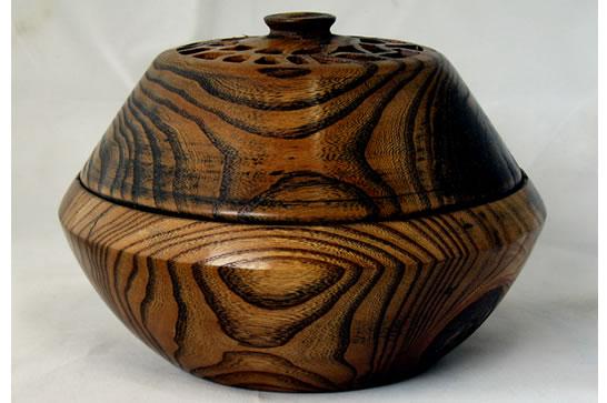 Elm Pierced Potpourri Bowl #513