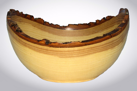 Ash Natural Edge Bowl #537