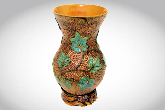 Faux Copper Vase #545