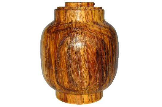 Small Spalted Urn #547