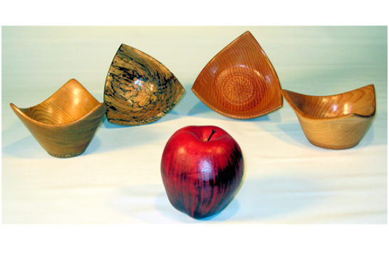 Small 3 Point Bowls