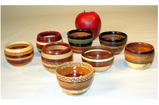 Assorted Segmented mini Bowls