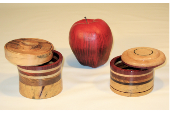 Small Lidded Boxes
