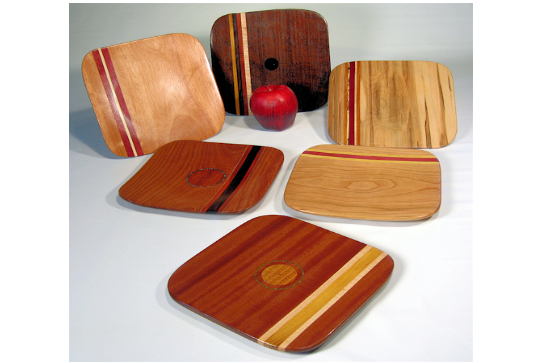 Square Segmented Serving Plates
