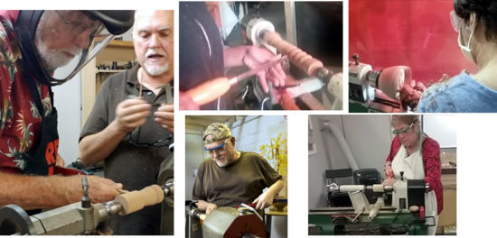Factur Woodturning with Roger Scott