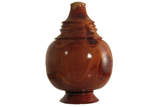 Red Cedar Pet Cremation Urn #128