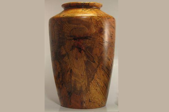 Spalted Maple Lidded Jar