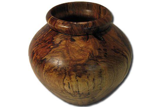 Spalted Oak Pot