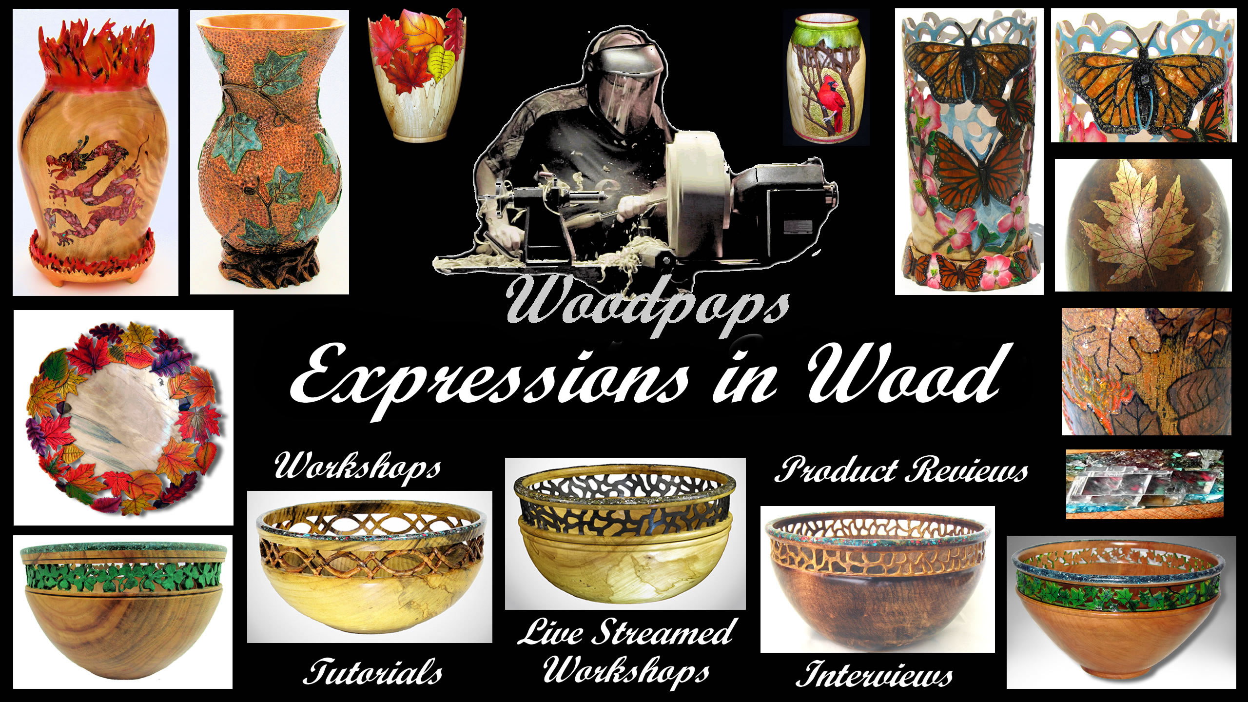 woodturning videos this month Woodpops Woodturning Expressions In Wood